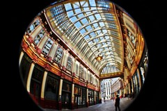 leadenhall market (La m'selle Kendra) Tags: london leadenhallmarket fisheye smifisheye