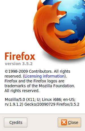 Firefox-3.5.2 Detected