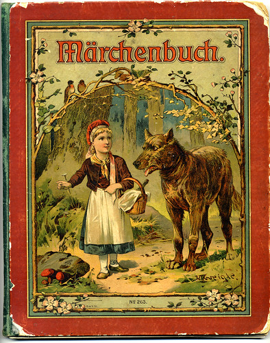 Little White Dog English Children S Book Vintage Illustration