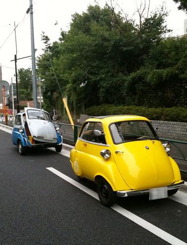 Isetta300 & Isetta250 in Tokyo Japan (September.15.2009)