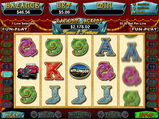 Fame and Fortune slot game online review