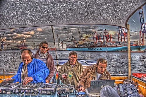 [HDR] OV-SILENCE BOOTSPARTY | Hamburg 12.Sept. 2009