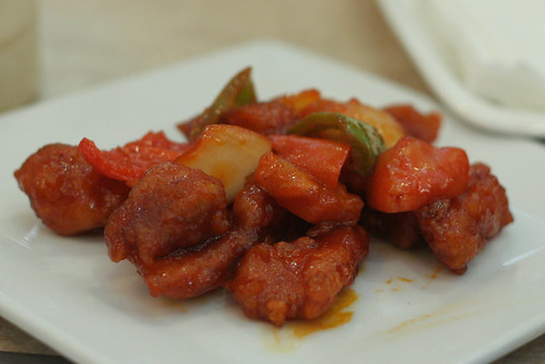 Sweet and Sour Pork at Gloria Maris
