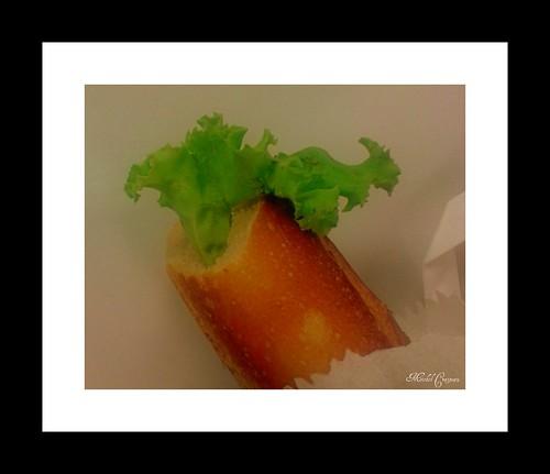 Salade angloutie !