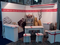 Eco-friendly exhibition booth & furniture