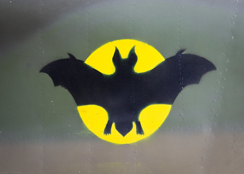 Bat stencil by you.