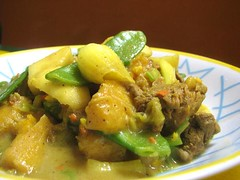 019 Curry de Manzana, Plátano y Lomo