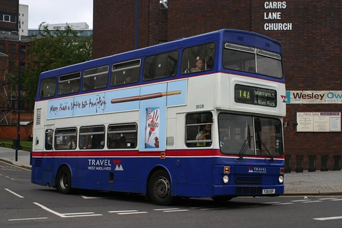 The Metrobus that gave me my last ever West Midlands MCW ride, F28 XOF