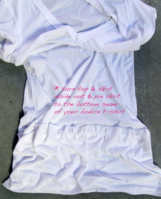 DIY-v-neck-t-shirt-dress-5