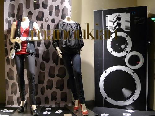 vitrines Manoukian - septembre 2009