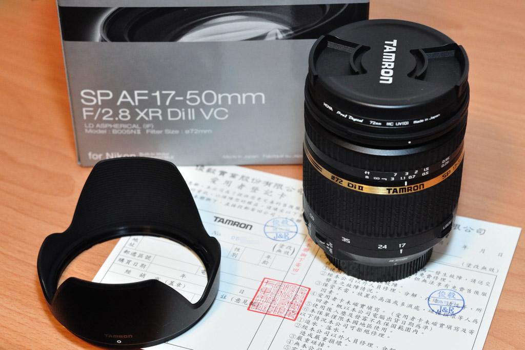 Tamron SP AF 17-50mm F2.8 XR VC