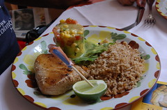 Comida colombiana para Reynaldo Brito