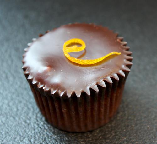 Orange Almond Cupcake