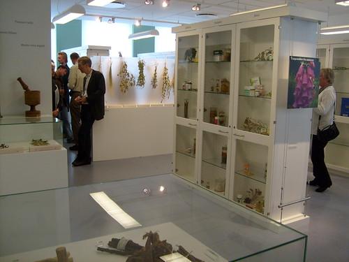 Et blik gennem udstillingen