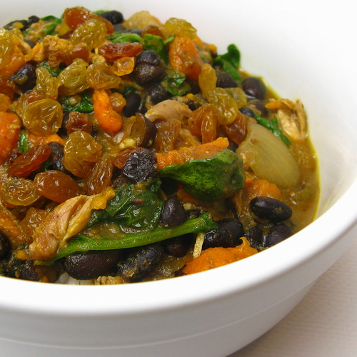 Sweet Potato & Black Bean Curry