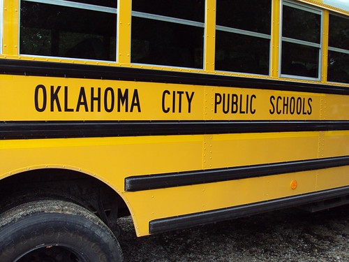 Bus from Oklahoma City Public Schools by Wesley Fryer, on Flickr
