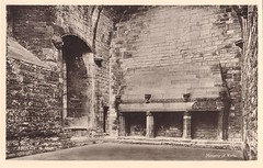 Linlithgow Palace, Fireplace In Hall