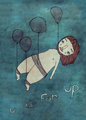U is for Up