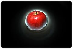 Kerana manisnya epal... ;) (ila_rahila.) Tags: light red black color love apple rose fruit one blood nikon asia shine bokeh sb600 malaysia shutter kualalumpur ila shining d60 rahila ilataiko