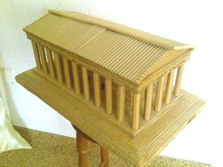 4033475323 7663ca8862 o, Kartondan Artemis Tapınağı Maketi