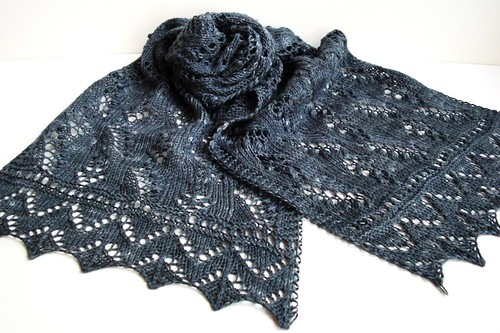 Lily of the Valley scarf-11.5 inches by 47 inches-4