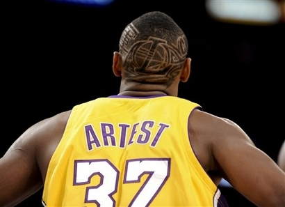 Artest hair