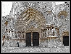 Tarragona, il portale in my view.. (My soul in pixel..) Tags: church spain cathedral catedral chiesa espana catalunya tarragona cattedrale gotico tempio catalogna tarraco cataluna cristianesimo chiesecristiane