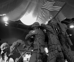 """a day to be dedicated to the cause of world peace...."" ([-Sherri-]) Tags: usa museum soldier virginia us lego flag military musee mc va legos marines museo veteran marinecorps iwojima drapeau quantico soldati marinecorpsmuseum militario"