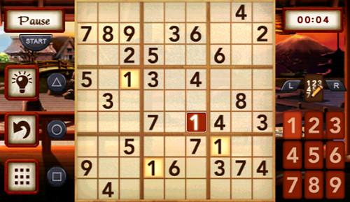 minis - Sudoku - screen