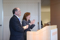Board Co-Chairs James Finberg and Nancy Harris