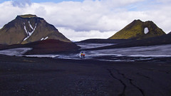 Hattfell - Emstrur - Island / Iceland (a.penny) Tags: bike bicycle island lumix iceland laugavegur nice mountainbike places landmannalaugar emstrur botnar apenny lx2 thorsmörk maelifell hattfell hungurfit hattafell porsmoerk storkonufell
