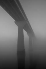 Foggy Solomons Island Bridge 2