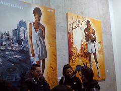 Opening @ Galerie Itinerrance (Tian (Chris a.k.a)) Tags: street urban streetart paris france art painting stencil paint contemporary tian exhibition spray peinture exposition aerosol bombe pochoir contemporain stencilhistoryx ian itinerrance