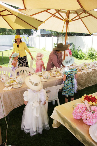 How to dress for an old fashioned tea party