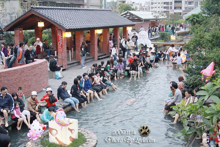 金氏世界紀錄活動|千人泡溫泉|礁溪湯圍溝溫泉公園