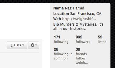 Twitter Statpack screenshot #1