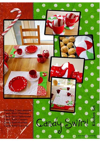 Candy Swirl Kitchen accesoires