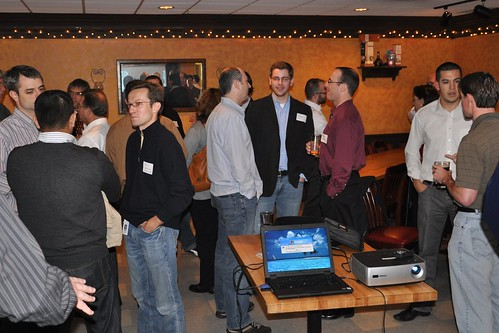Pre-Dinner Networking at Web Analytics Wednesday