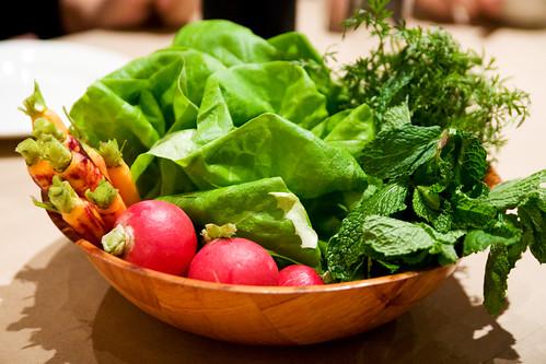bowl of veg