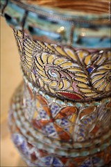 Port Ghalib - One of the many (handmade) lamps