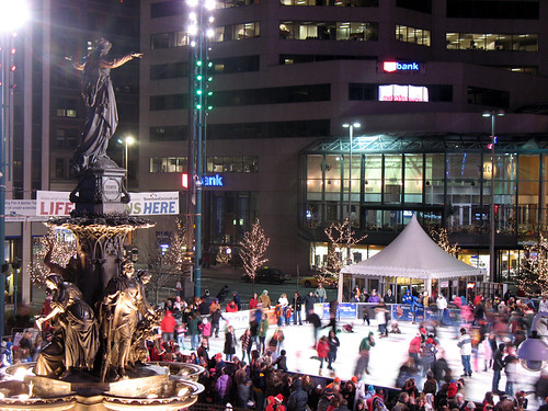 Fountain square downtown dazzle