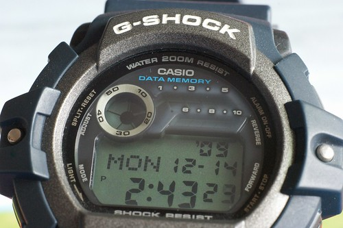My old Casio G-Shock