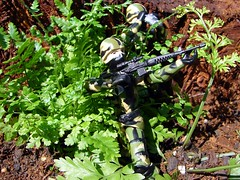 Jungle sniper. (cradea2) Tags: trooper cobra joe jungle custom gi