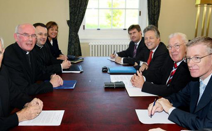 DUP with Archbishop Brady