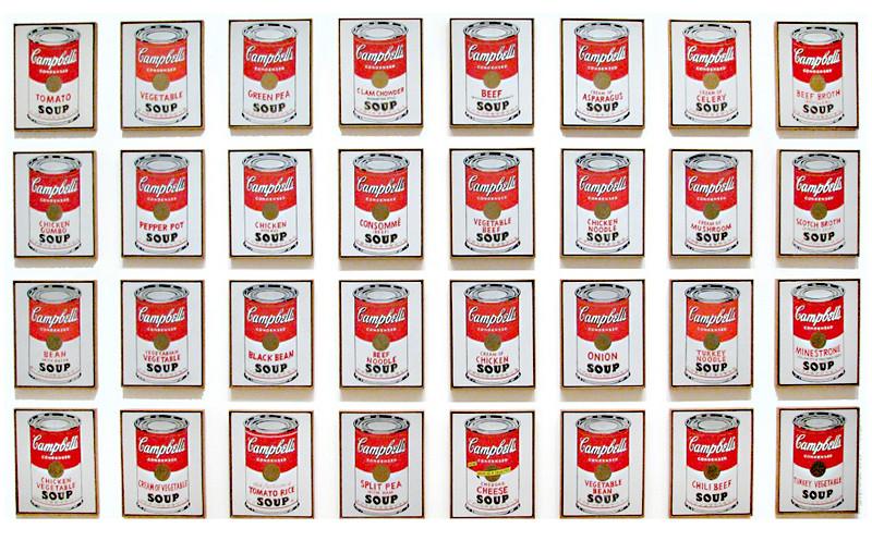 warhol's soups