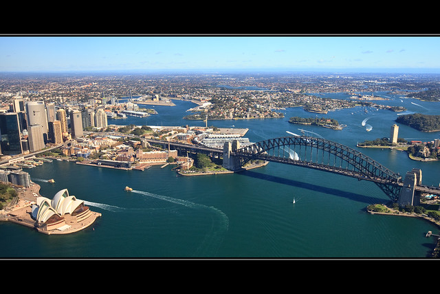 Sydney Harbour from Above