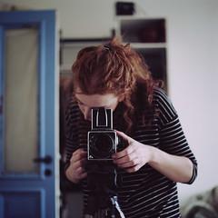 hasselblad005 copy (heddar) Tags: selfportrait film mediumformat hasselblad analogue