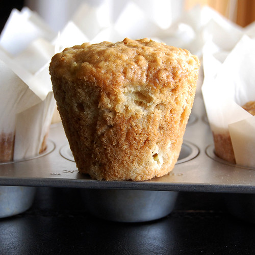 Bourbonnatrix Bakes: rhubarb oatmeal muffins