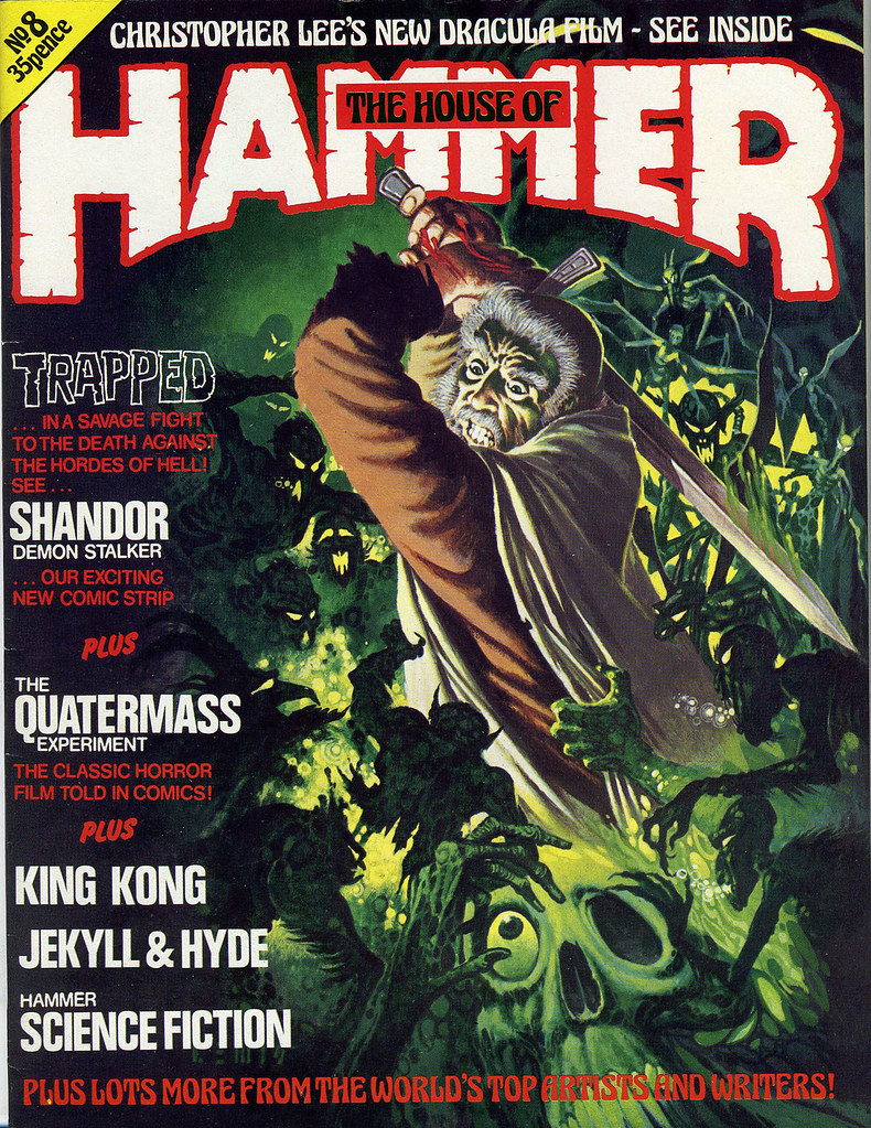 House Of Hammer Magazine - Issue 8 (1978)