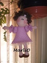 boneca menina (marli.o) Tags: tecido